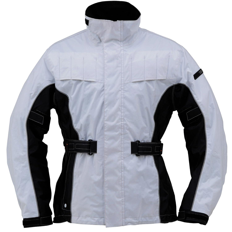 Henly comienza traje impermeable de admisión de aire color blanco 3ldh302 71502: Amazon.es: Coche y moto