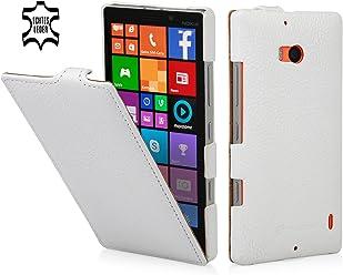 StilGut housse UltraSlim en cuir pour Nokia Lumia 930, en blanc
