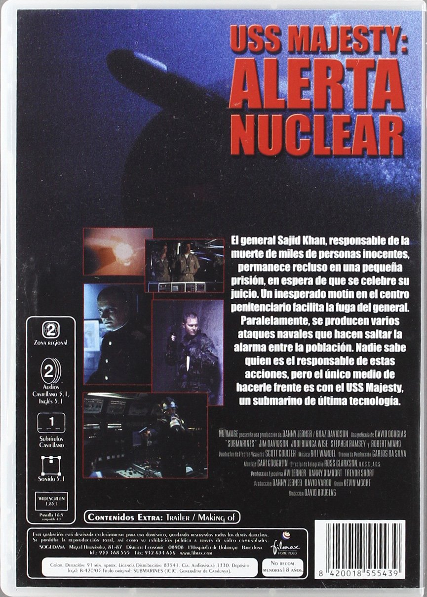 Amazon.com: Uss Majesty Alarma Nuclear (Import Movie ...