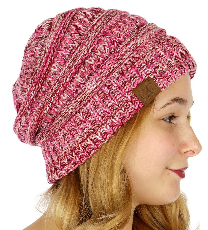 SERENITA HAT レディース B075FYGXBH  Hot Pink/Burgundy/Pale Pink/White