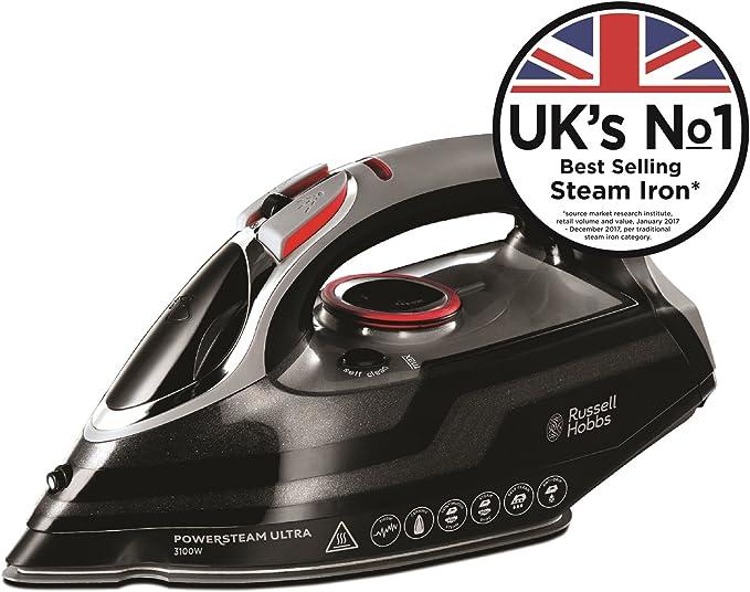 Russell Hobbs Powersteam Ultra 3100 W Vertical Steam Iron 20630