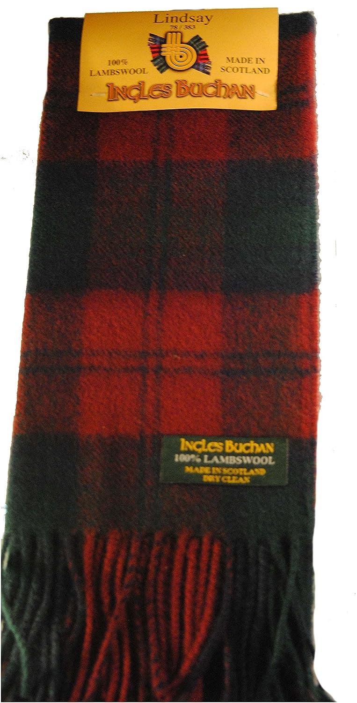 Lochcarron of Scotland Tartan Scarf for Boys /& Girls really Warm 100/% Wool.