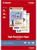 Canon HR-101N A3 High Resolution Paper inkjet paper - printing paper (106 g/cm2, 100 sheets)
