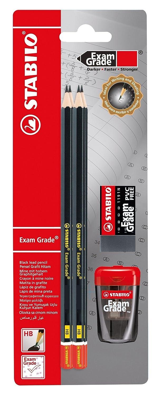 Montana HB-Bleistifte 6er Set inklusive Radiergummi hb
