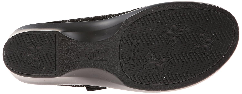 Alegria Women's Ella 2 Black Sprigs EU Wedge B00I5RWNRI 37 M EU Sprigs / 7-7.5 B(M) US|Black Sprigs bfd21c