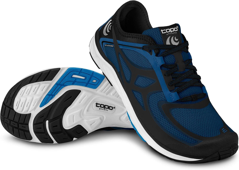TOPO ST-2 - Zapatillas de correr para hombre, 0 mm, color gris y ...