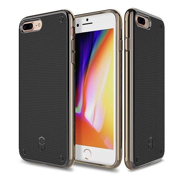 new product 9b8f8 97ec4 iPhone 7 Plus, iPhone 8 Plus, Patchworks Flexguard Case in [Gold] -  Military Grade Corner Protection Case For Apple iPhone 7 Plus / iPhone 8  Plus