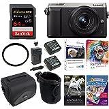 Panasonic LUMIX GX85 4K Mirrorless Digtial Camera w/ 12-32mm Lens & 64GB Bundle