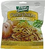 Fresh Gourmet Crispy Onions, Garlic Pepper, 3.5-Ounce (Pack of 6)
