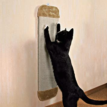 Nueva mascota gatito Esquina Pared Gatos Rascador colgar gato arañar Junta: Amazon.es: Productos para mascotas