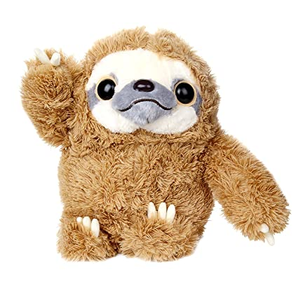 Amazon Com Sloth Stuffed Animals Fluffy Sloth Plush Not Easy Shed