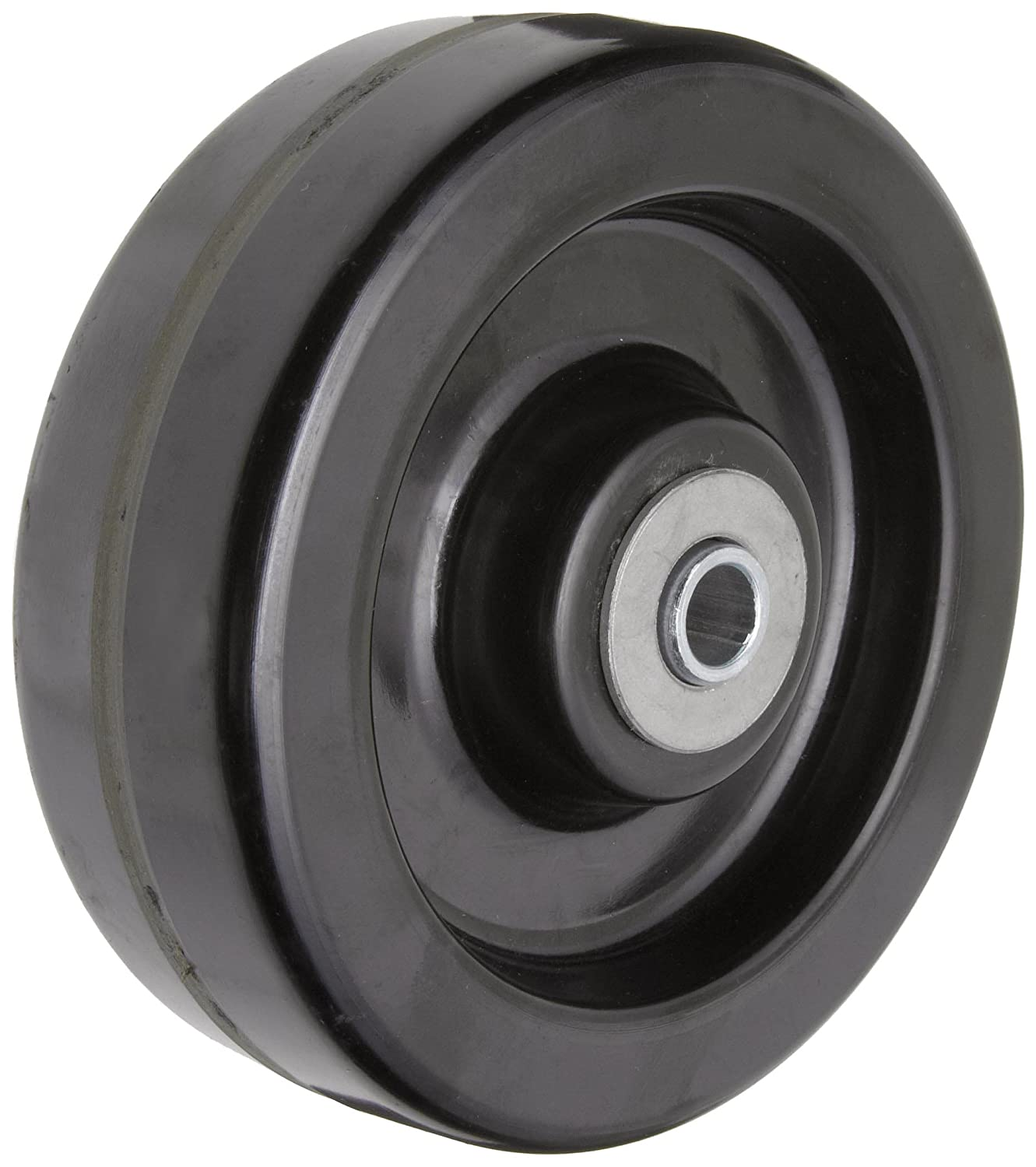 RWM Casters DUR 0620 08 6 Diameter X 2 Width Durastan Phenolic Wheel with Straight Roller Bearing 1200 lbs Capacity 1 2 Axle Diameter