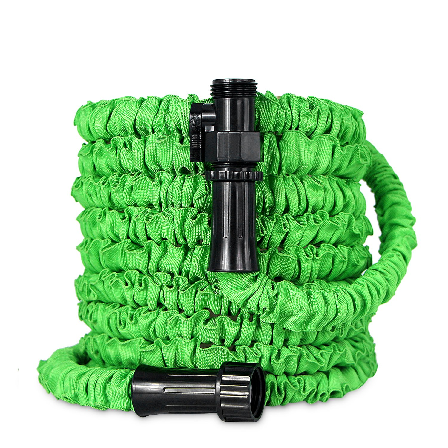 inGarden Garden Hose, Expandable Water Hose,3 Times Expanding,100ft Flexible Lightweight Hose With Storage Bag For Washing Car,Watering Flowers,Cleaning Windows/Floor,Suitable For Home and Commer