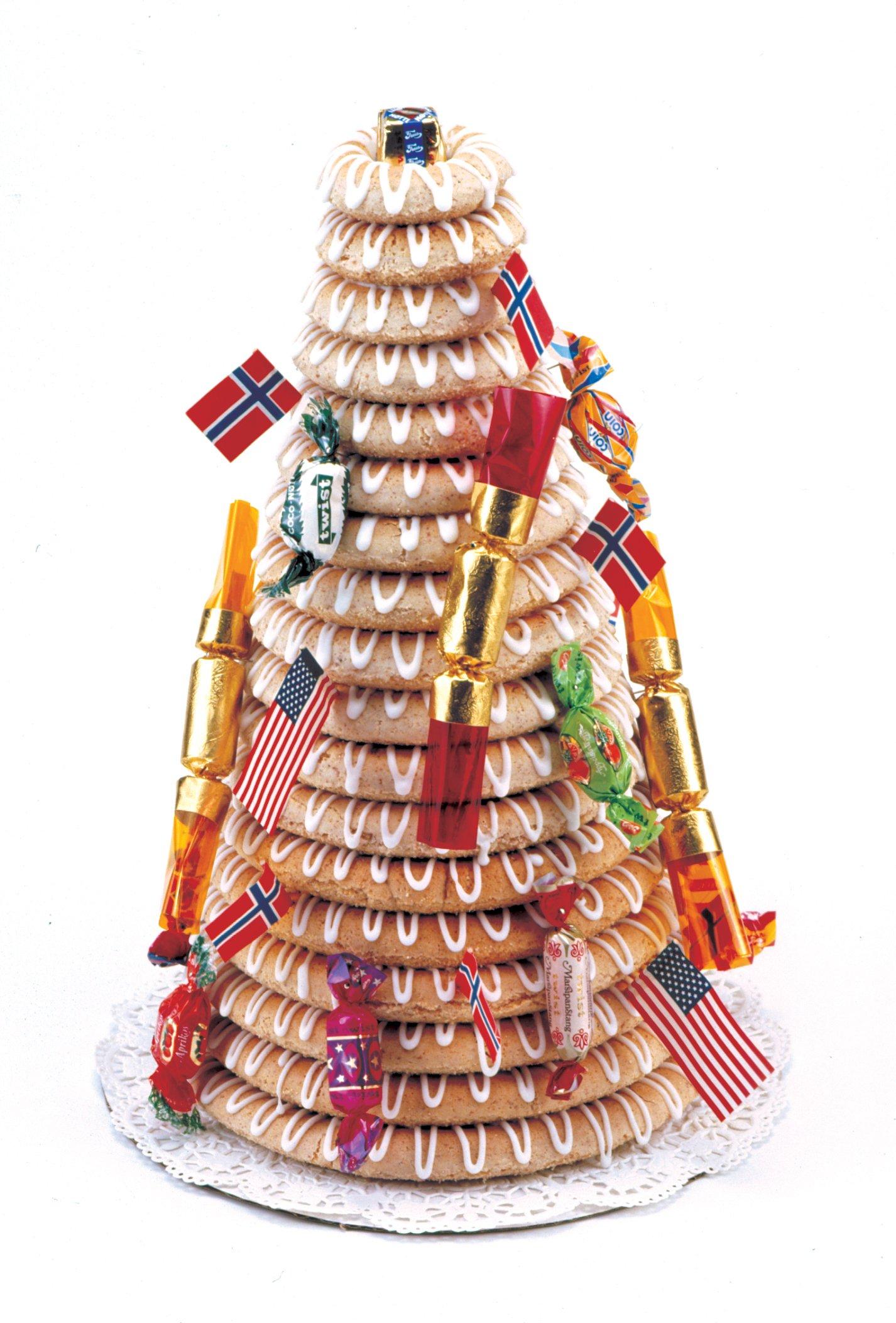 Norpro 3273 Cake Forms Nonstick Kransekake Norwegian Dessert Ring Tower New 3273