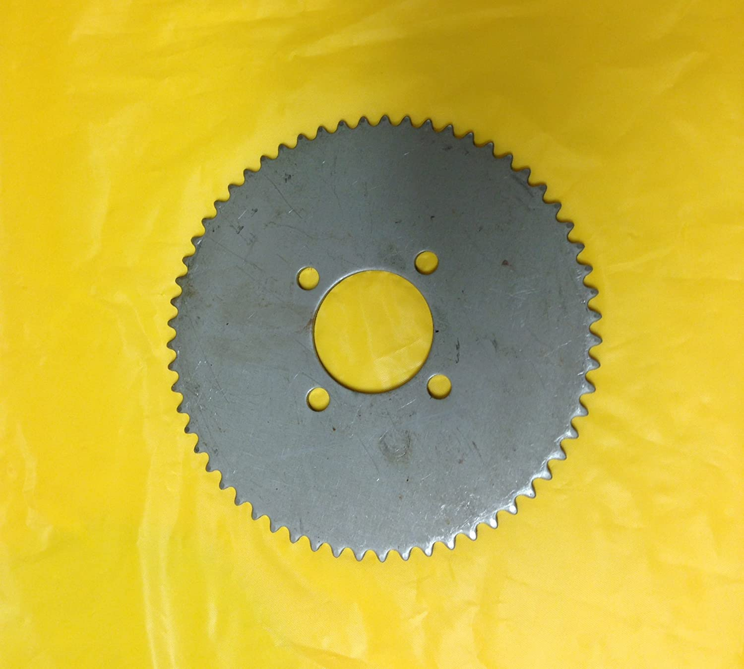 """ROTARY PART # 469 STEEL PLATE 60T SPROCKET USED ON 35 CHAIN WITH 2/"""" CENTER HOLE"""