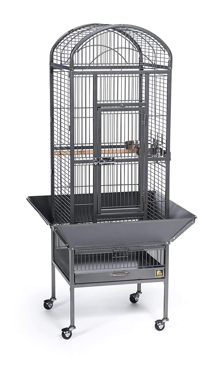 Prevue Pet Products Dometop Bird Cage, Small Chalk White Inc. 34512