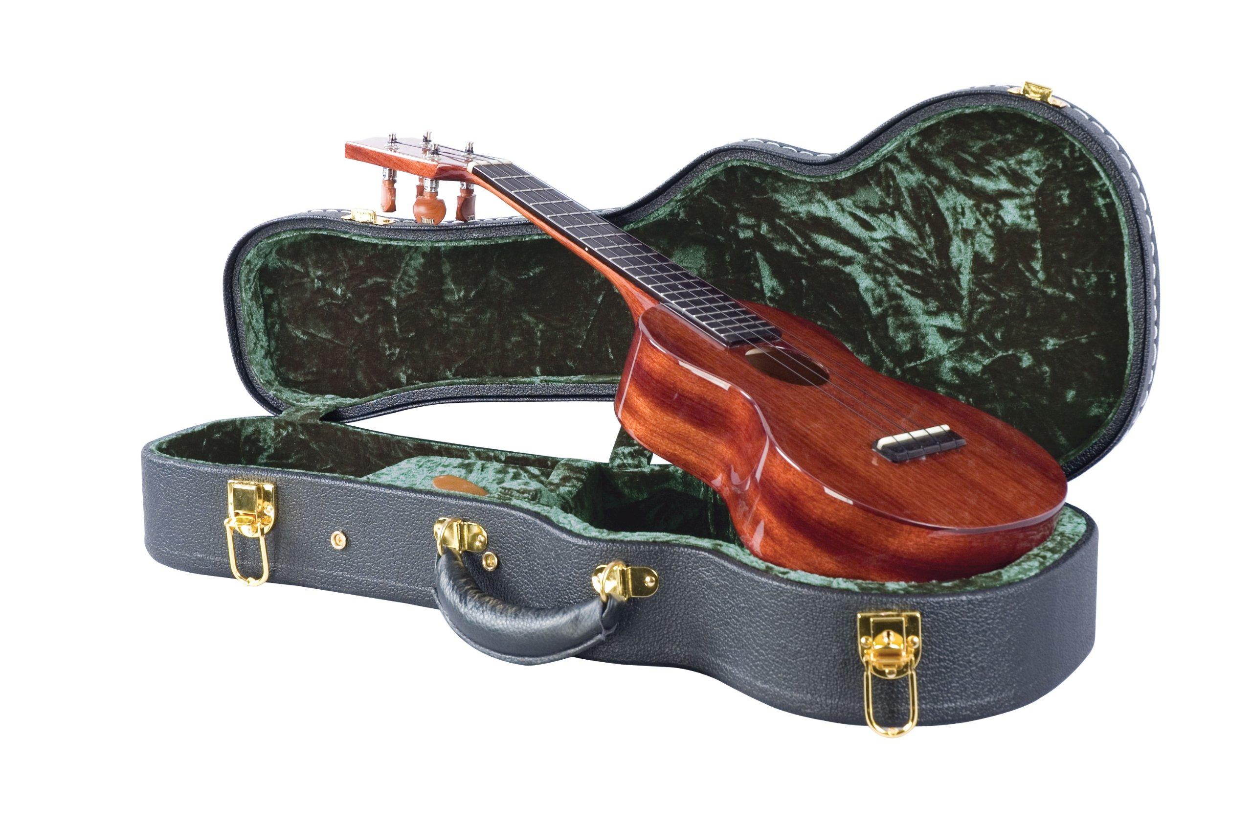 Guardian CG-044-UC Vintage Hardshell Case, Concert Ukulele