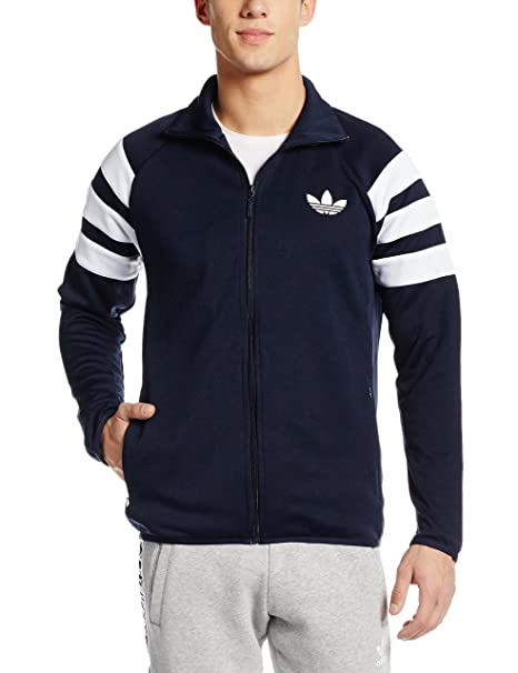 sold worldwide online shop many styles adidas Men's Trainingsjacke Trefoil Football Club Originals Jacket