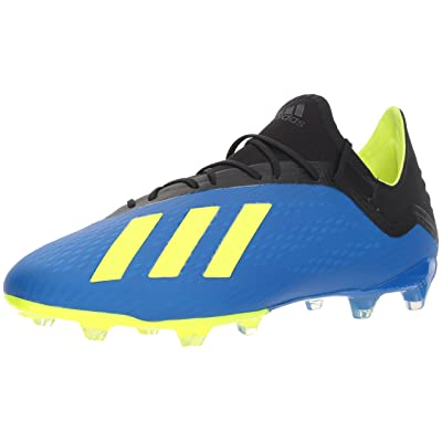 adidas Men's X 18.2 Firm Ground Soccer Shoe | Soccer