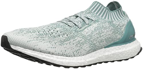 adidas Performance Mujer Ultraboost Uncaged W Running Shoe, (Crystal White/Vapor Steel/