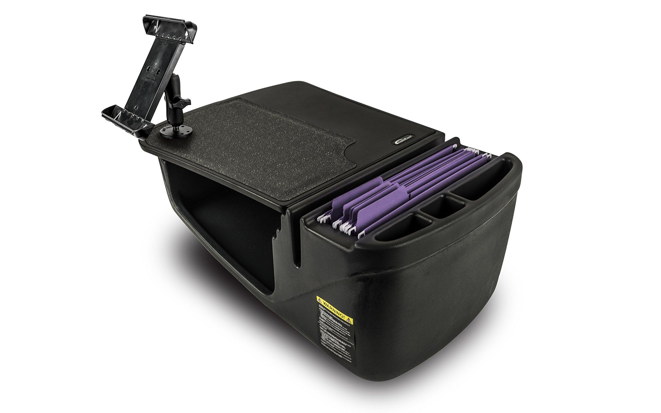AutoExec AEGrip-02-Tablet-BLK Efficiency Car Desk (Black with iPad/Tablet Mount), 1 Pack