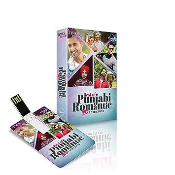 Music Card Best of Punjabi Romantic Hits 2018-2019 (4GB)