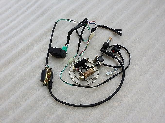 ALL ELECTRICS Kick Start 50-110 125CC 140 WIRE HARNESS CDI ... on