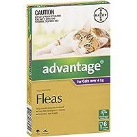 Advantage Flea Treatment for Large Cats, Purple, 6 Pack