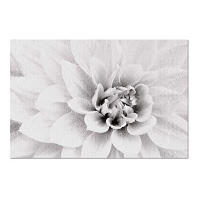 White Dahlia Flower Up Close 9003743 (Premium 1000 Piece Jigsaw Puzzle for Adults, 20x30, Made in USA!): Toys & Games