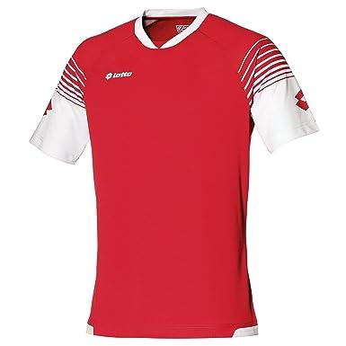Lotto - Camiseta de fútbol transpirable Modelo Omega para hombre (Extra Grande (XL)