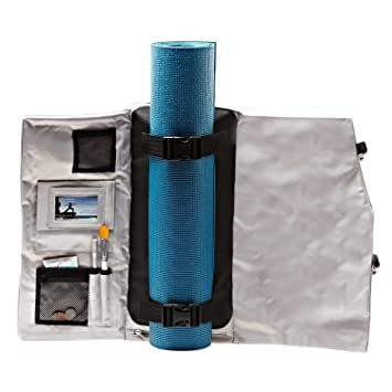 2d7bc1c59f Yoga Sak - Ultimate Yoga Mat Bag (Silver Fox): Amazon.co.uk: Sports &  Outdoors