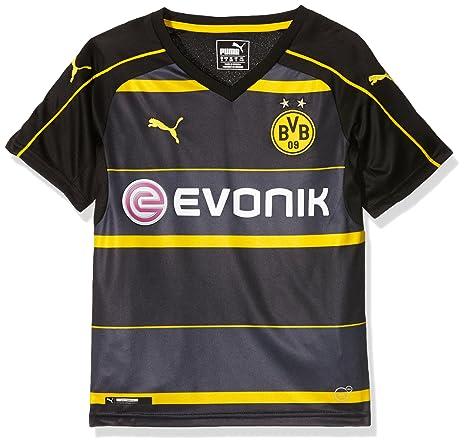 7efc3f31 Amazon.com : PUMA 2016-2017 Borussia Dortmund Away Shirt (Kids ...