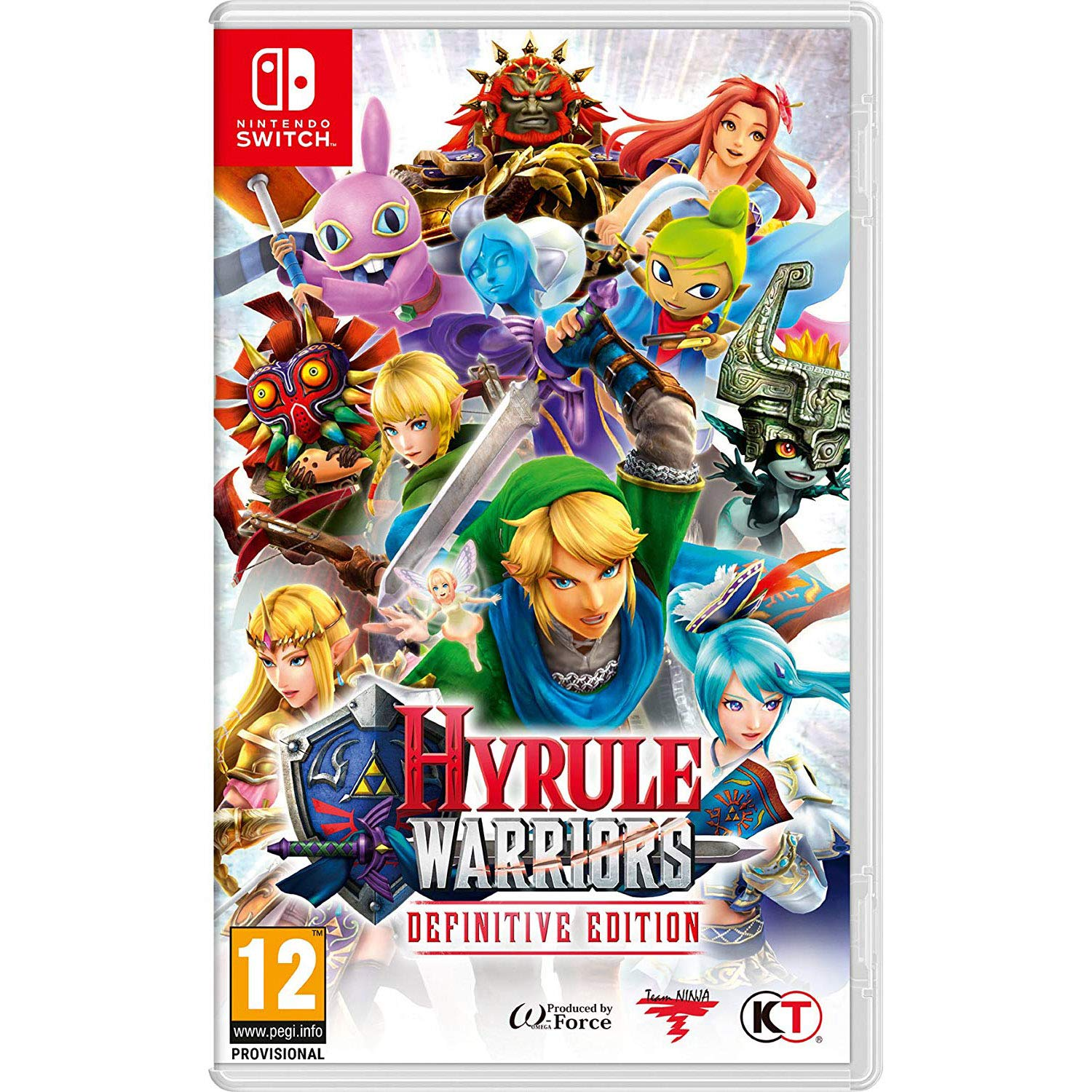 Amazon Com Hyrule Warriors Definitive Edition Nintendo Switch Uk Import Video Games