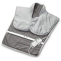 medisana HP 630 verwarmingsmuts voor hals, schouder en rug, elektrisch, verwarmende poncho met 4 temperatuurstanden…