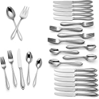 Lenox Medford 62-Piece Flatware Set Service for 12