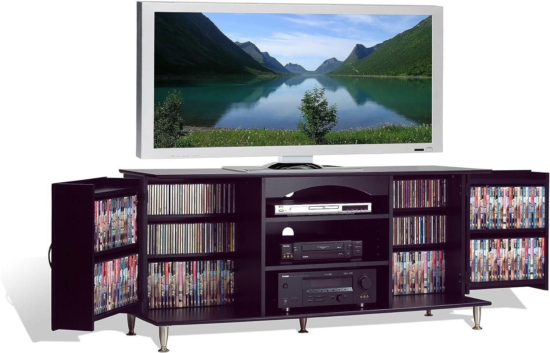 Premier - Consola de plasma y LCD para televisor con almacenamiento de medios (tamaño grande), color negro: Amazon.es: Juguetes y juegos