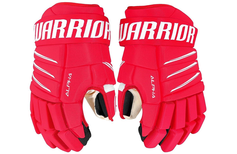 Warrior Senior Alpha QX4Gants QX4 Senior Glove RDW RD/White 14 Rouge/Blanc Warrior Hockey