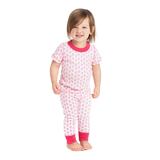 Amazon.com  Masala Baby Organic Baby Pjs Short Sleeve Jasmine  Clothing c7eb82f53