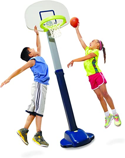 Little Tikes Adjust and Jam Pro Basketball Set