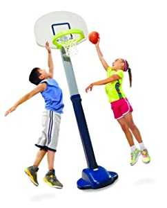 Little Tikes Adjust and Jam Pro Toy Basketball Hoop