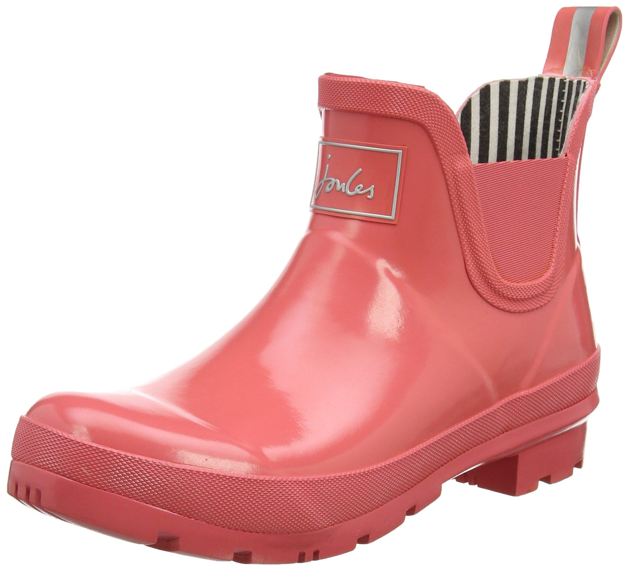 Joules Women's Wellibob Chelsea Boot Red Sky Rubber 7 B US