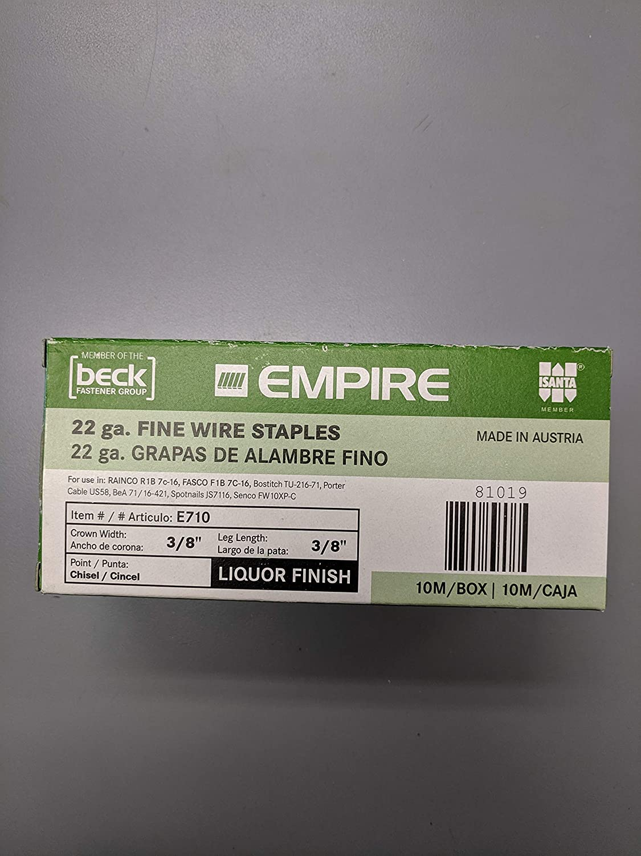 Empire 7 C 3//8 Upholstery Staples