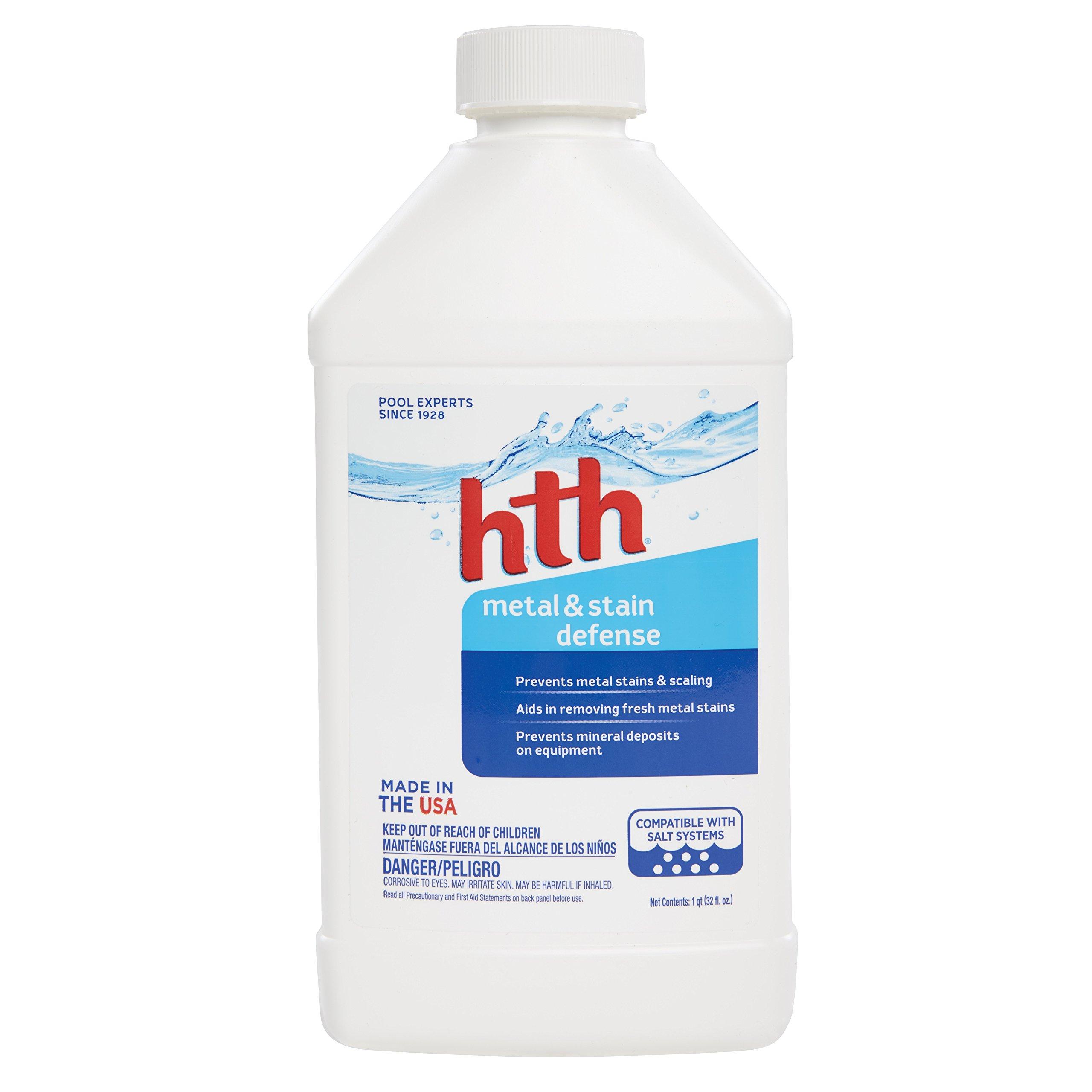 HTH Pool Clarifier Metal & Stain Defense (67013)