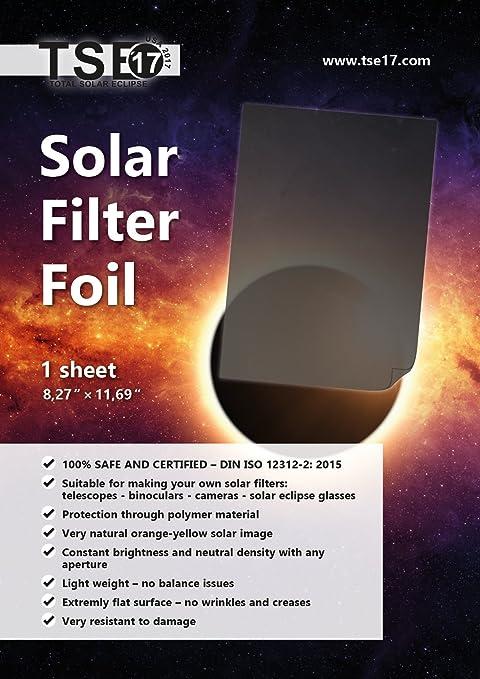 solar filter foil - - .com