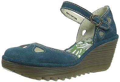 0f36e694c80c Fly London Women s Yuna Wedge Sandals  Amazon.co.uk  Shoes   Bags