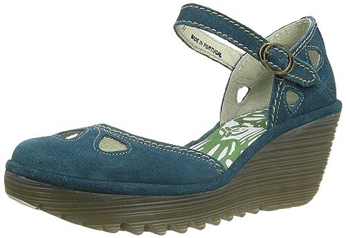 b7c0ecad2ffd2 Fly London Women's Yuna Wedge Sandals: Amazon.co.uk: Shoes & Bags