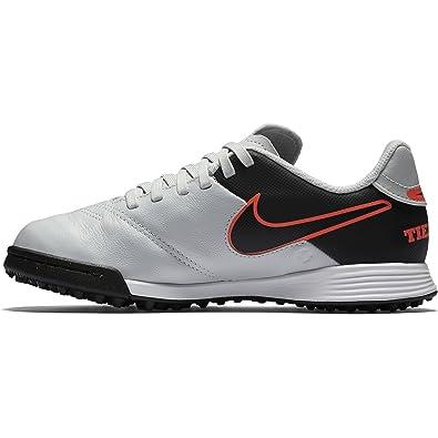 super popular 0f017 b246a Nike Youth Tiempo Legend Vi Turf [Pure Platinum/Black]