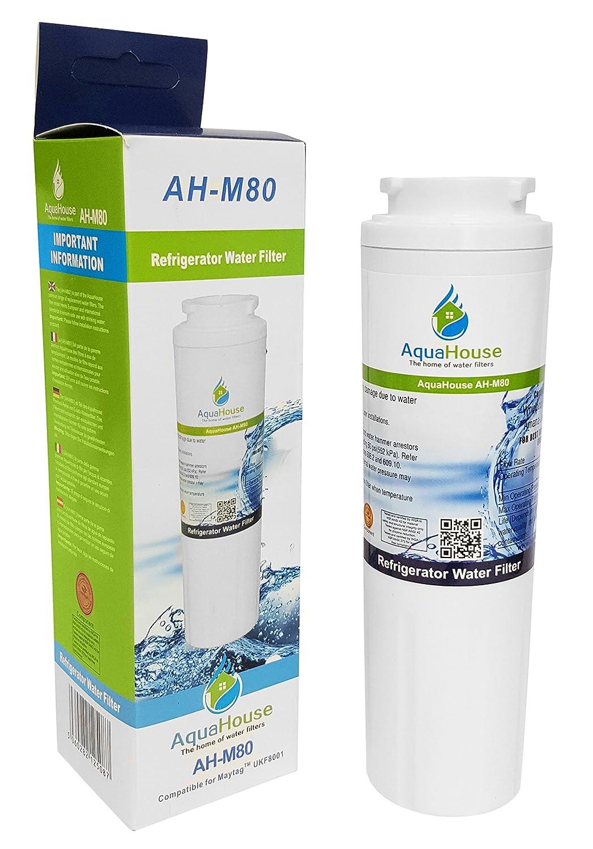 AquaHouse AH-M80 filtro de agua compatible para Maytag UKF8001 ...