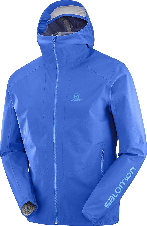 Nautical bluee L SALOMON Outline Jacket Men bluee 2019 winter jacket