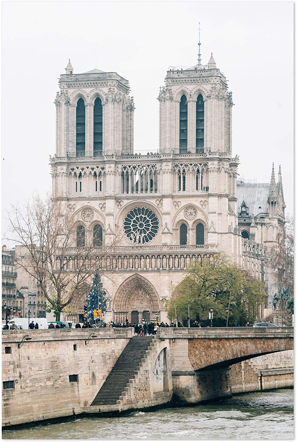 Amazon Com Notre Dame Cathedral Paris 8 X 10 Unframed Art Print Poster Books